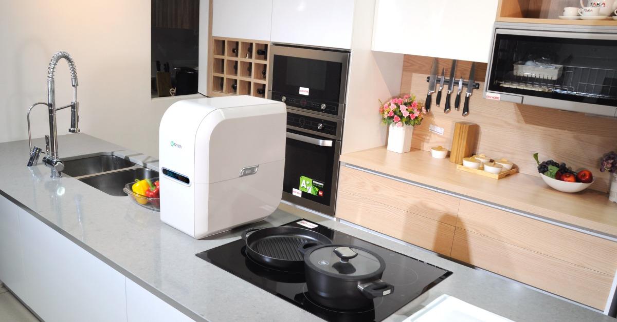 Máy lọc nước AR75-A-S-2 lắp tại bàn bếp