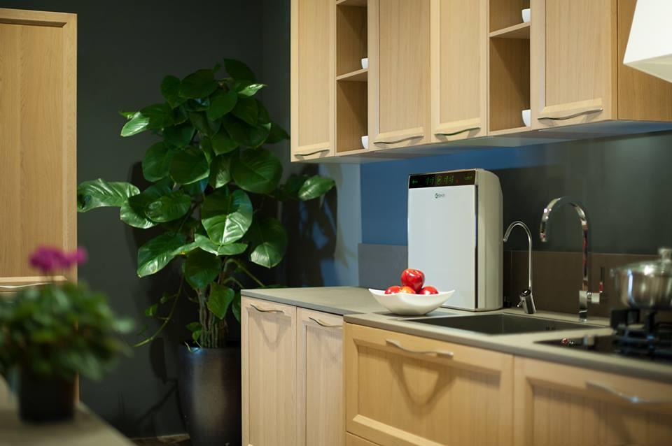 Máy lọc nước A.O.Smith K400 lắp trên bàn bếp